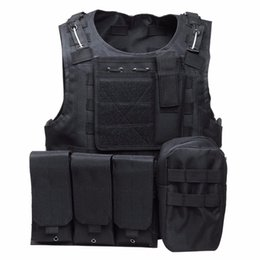 Chinese  5 Colors Camouflage Hunting Tactical Vest Wargame Body Molle Armor Hunting Vest CS Outdoor Jungle Equipment manufacturers
