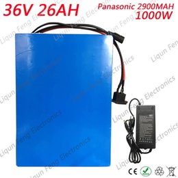 E scootErs online shopping - Free Customs Fee V AH Lithium Battery V AH E scooter Battery use Panasonic NCR18650PF MAH cell A BMS High quality