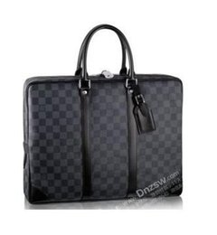 Mens black leather clutch bags online shopping - hot sale LOUIS VUITTON SUPREME briefcase business package high quality mens laptop bag leather MICHAEL KOR shoulder bag clutch handbag luxury crossbody package LV GUCCI