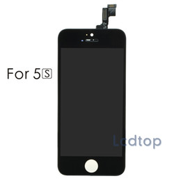For iPhone 5/5S/5C LCD AAAA Quality No Dead Pixels Touch Display Digitizer Screen with Frame with Small Parts Assembly Repalcement Parts