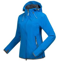 xxl ski jackets women 2019 - Wholesale-2014 new fleece women Camping jackets outdoor hiking jackets softshell ski windstopper waterproof warm windbre
