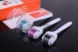 DNS 540 Micro Needles Derma Roller,540 Needles Dermaroller System,Skin Care Microneedle Roller Therapy Nurse System