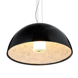 hotel lighting 2019 - New Skygarden Pendant Light Round Ceiling Hanging Lamp Lighting for Indoor Home Deco with D60CM AC110-240V cheap hotel l