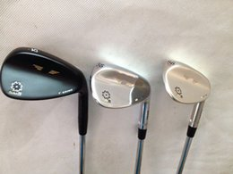 golf clubs Vokey SM5 wedges set black.silver.Champagne with steel shaft Vokey SM5 golf wedges 3pcs right hand