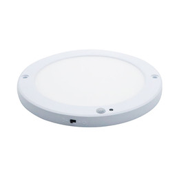 Body detector online shopping - 15W Ultra Thin Panel Light Built In Driver With Human Body Infrared Detector Motion Square Round Surfac Mounted Light