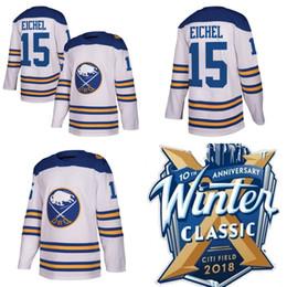 xxxl free 2019 - 2018 Winter Classic Jersey 15 Jack Eichel 90 Ryan O'Reilly Buffalo Sabres Hockey Jerseys Stitched Jerseys Free Ship