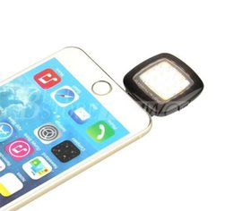 mini camera for android 2019 - Portable Mini 16 Leds Lamp LED Flash IBlazr Dimmable Fill-IN Light Pocket Spotlight For iPhone IOS Android Smartphone Ca