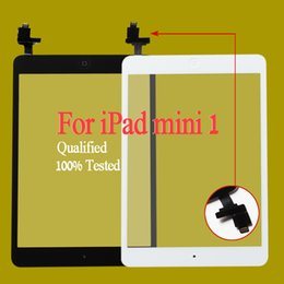 Free shipping by dhl or ems 100% Completed For iPad mini 1 mini 2 Touch Digitizer Screen With IC & Home Button Flex Cable