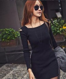 Women Christmas Xmas Fashion Crew Neck Long Sleeve Knit Knitwear Sweater Dress