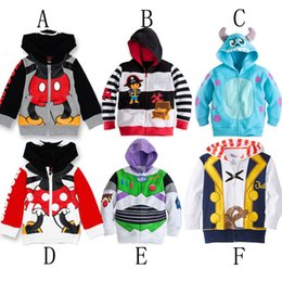 Jake and the Neverland Pirates/Monster University/ TOY3/Minnie boy girl Fleece Hoodied cardigan coat top outwear track suits DHL/FEDEX E030