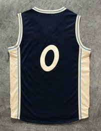 2016 Christmas # 0 sports jerseys men's Basketball Jersey men sports jerseys size: S-XXL Allow Mix Order