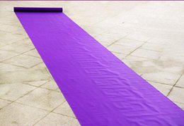 wedding photo shots 2019 - 20 Meters roll Wedding Favors Purple Nonwoven Fabric Carpet Aisle Runner For Wedding Party Decoration Supplies Shooting