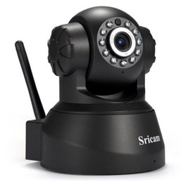 Chinese  Newest Sricam SP012 IP Camera WIFI Onvif P2P Phone Remote 720P Home Security Baby Monitor 1.0MP Wireless Video Surveillance Cam manufacturers