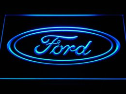 Discount ford neon bar sign - d007 Ford LED Neon Sign Bar Beer Decor Free Shipping Dropshipping Wholesale 7 colors to choose