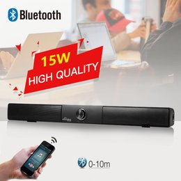 SunnyLink Sound Bar Wireless Subwoofer 4.0 Bluetooth Speaker 15W Small TV Soundbar Bluetooth Receiver Stereo Super Bass