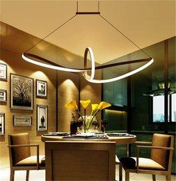 White pendant acrylic lamps online shopping - modern minimalist led pendant light led hanging lamp suspension chandeliers livingroom indoor lighting fixture Aluminium acrylic boat Mobius
