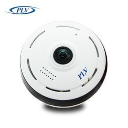 ip dome camera fisheye 2019 - New PLV WIFI IP Camera 360 Fisheye Panoramic Dome Camera 1.3MP 960P CCTV Night Vision Video Surveillance Security cheap