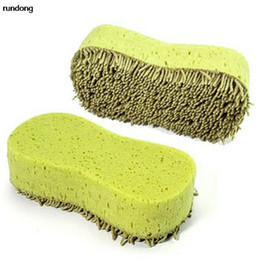 China Wholesale- Practical Cleaning Washing Cleaner Coral Microfiber Sponge Brush For Auto Car supplier car washing coral sponges suppliers