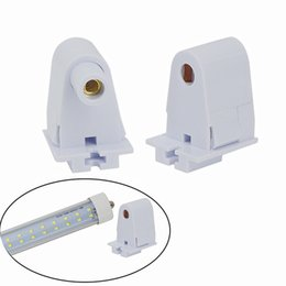 Base plastics online shopping - DHL UPS EMS FEDEX Free FA8 Lamp Bases And Lamp Holder Light socket for FA8 tube lights