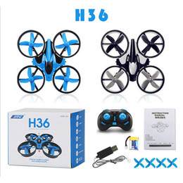 JJRC H36 Mini Drone 2.4Ghz 4CH 6-Axis GYRO RC Quadcopter Headless LED Mode One Key Return Helicopter WX-T100