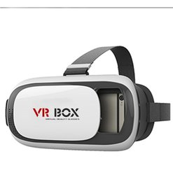 Chinese  Wholesale- HD VR BOX II 3D virtual reality glasses Virtual Reality Goggles Coating Glass Lens Helmet 3D Glasses Headset for 4-6.5'phone manufacturers