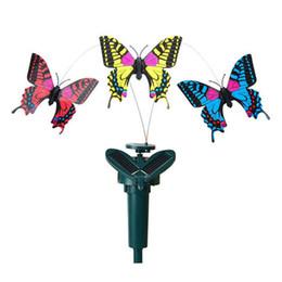 Control toys online shopping - Simulation Butterfly Solar Remote Control Assembling Novelty Kid Toys Home Garden Decor Revolving Butterflies Creative Gift Hot cg KK