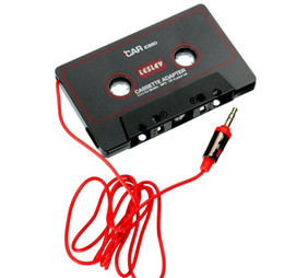 China Universal Car Cassette Playter Tape Adapter For iPod For iPhone MP3 4 AUX CD Player 3.5mm Jack suppliers