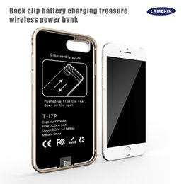 Mobile battery charges online shopping - 3000Mah Mah Power Bank Case Mobile Phone External Battery Case Magnetic Ultra Thin Backshell Whireless Charge Case for iPhone Plus