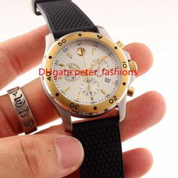 Quartz solar powered casual watches online shopping - 2017 New pin explosion men s watches imported hypoallergenic rubber strap top quartz movement bi gold watch Swiss watches size mm