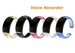 online shopping New GB Wristband voice recorder VOS sound control bracelet voice recorder MP3 support languages WR