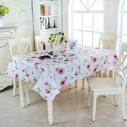 Printed vinyl online shopping - Dinner Mat Multi Function Waterproof Oilproof Wipe Clean PVC Vinyl Tablecloth Household Decorate High Quality Printing st J