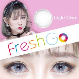 Hot Selling Glass Ball Color Contact Lenses Big Eye Circle Lens Ready Stock