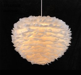 White feather pendant light online shopping - Sunway lighting Reilly Altar Modern Pendant lamp LED candle remote chandelier Lighting Innovative feather fixture candle suspension lamp