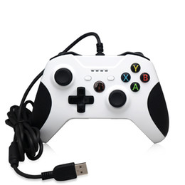Usb joystick pc compUter online shopping - Cheap Game Controller Gamepad USB Wired Game Control PC Joypad Joystick Accessory For Xbox One Slim S Game Controller Laptop Computer