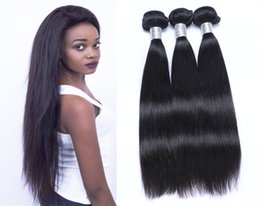 Brazilian Hair Human Hair Weave Free Shipping Unprocessed Peruvian Indian Malaysian Cambodian Straight Hair Extensions 8A