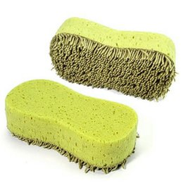 Chinese  Wholesale- Practical Cleaning Washing Cleaner Coral Microfiber Sponge Brush For Auto Car ja10 manufacturers
