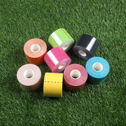 Elastic tapE sport online shopping - Muscle Tape Athlete Use Special Sports Paste Elastic Internal Effect Patch Multi Color Cotton Bandage Strain Injury Support sk F