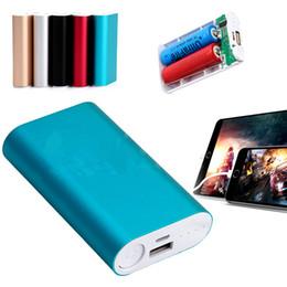 custom wholesale phones 2019 - (Factory Wholesale, Custom LOGO ) Universal Phone Powerbanks 5200mah Power Bank Portable Battery Universal charger hot s