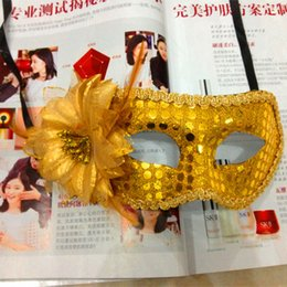 Princess mosaic online shopping - Venetian Side Flower Bouquet Mosaic Rose Princess Sexy Mask Mascara Dance Halloween Mask