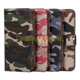 Pocket holsters online shopping - Camouflage PU Leather Holster Stand Holder Case With Card Slot on the Back phone Bag For iPhone S Plus Samsung S6 S7 edge