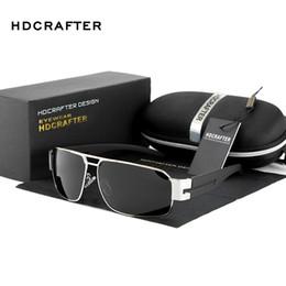 hdcrafter sunglasses 2019 - Wholesale- HDCRAFTER 2016 Mens Sun Glasses Fashion polarizing Glasses Driving Sunglasses Men Brand Ultraviolet Preventio