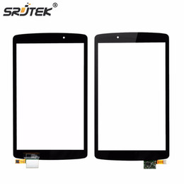 """Discount replacement touch tablet screen panel - Wholesale- Srjtek 8"""" For LG G Pad F 8.0 V495 V496 Touch Screen Digitizer Panel Sensor Glass Tablet PC Replacement"""