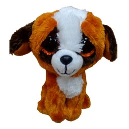 Wholesale- Ty Beanie Boos Original Big Eyes Plush Toy Doll Child Brithday 10 - 15cm White Dog TY Baby For Kids Gifts