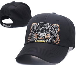 Chinese  2018 Designer Mens Baseball Caps New Brand Tiger Head Hats Gold Embroidered bone Men Women casquette Sun Hat gorras Sports Cap Drop Shipping manufacturers