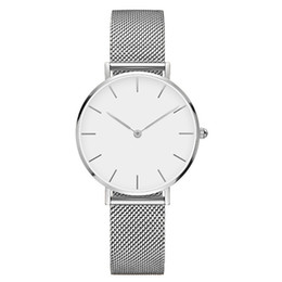 Discount dial diameter watch - 2008 Hot-selling Watch Dial Diameter 32 mm Stars Quartz Watchs Fashionable Boys and Girls Couple Steel Band Watch
