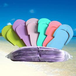 Summer SlipperS for women online shopping - EVA Foam Premium Slippper Foam Pedicure Slippper for Salon Spa Pedicure Thong Slippers Hotel SPA Travel Home sliiper FFA269