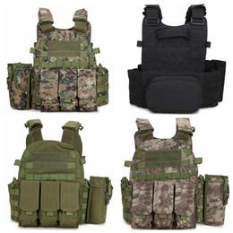 Armor vests online shopping - Outlife Camouflage Hunting Tactical Seal Vest Wargame Body Molle Armor Hunting Vest CS Outdoor Jungle Equipment LJJD17