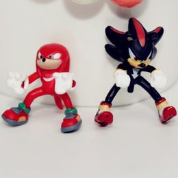 sonic toys figures 2019 - 3m Mix 10pcs Cartoon Sonic the Hedgehog Toys Sonic Characters Collection Model Doll Action Figures Birthday Party Favor