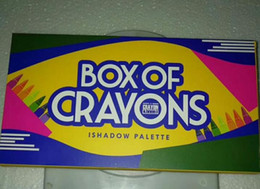 Discount boxed crayons - Newest Eye shadow Palette Cosmetics BOX OF CRAYONS iShadow Palette 18 colors Brand new drop shipping