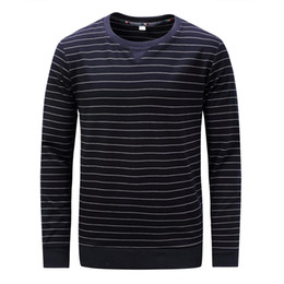 China Wholesale Mens Simple Fashionable LooseType Color Matching Design Thickened Guard Sweatshirt 2018 Brand Fashion Luxury Designer T-shirt cheap fashionable mens suppliers